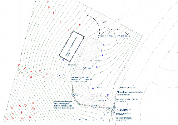 Grading plans considers drainage and erosion control for the site – Site Grading Plan